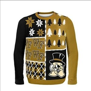 New Wake Forest Demon Deacons Winter Sweater